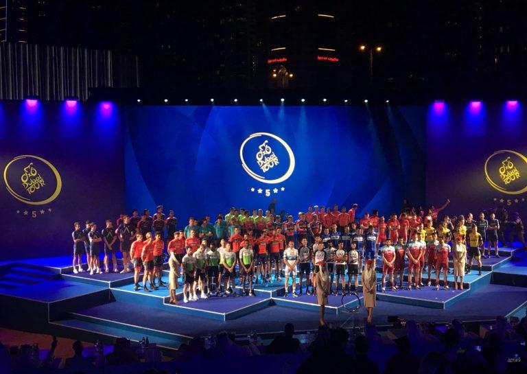 Aqua Blue Sport @ Team Presentation Tour of Dubai