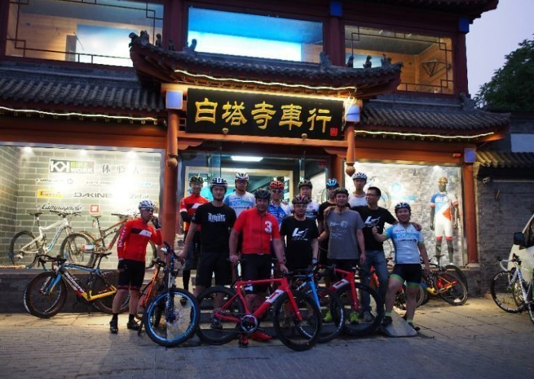 Riding Strada in Beijing
