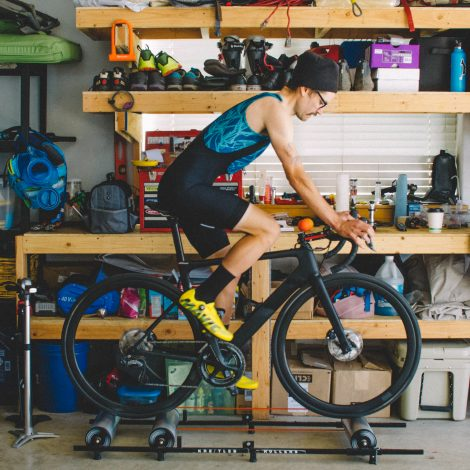 Using your 3T Strada to keep things fresh training indoors