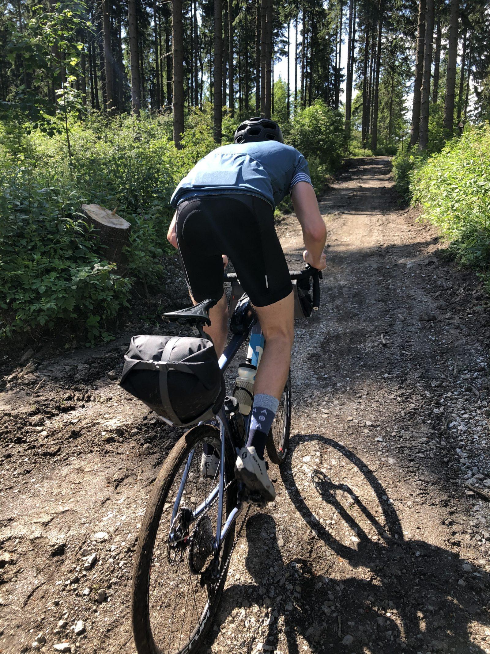 climbs are steep